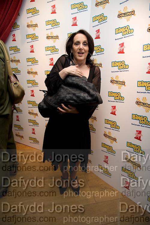 Leslie Joseph, Bingo Lotto launch party. Soho Hotel Richmond Mews. London. 29 February 2008.  *** Local Caption *** -DO NOT ARCHIVE-© Copyright Photograph by Dafydd Jones. 248 Clapham Rd. London SW9 0PZ. Tel 0207 820 0771. www.dafjones.com.