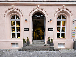 Libeskind boutique Neue Schonhauser on street in trendy fashionable district of Mitte in Berlin Germany