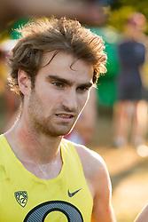 Boston College Invitational Cross Country race at Franklin Park; Matthew Melancon, University of Oregon