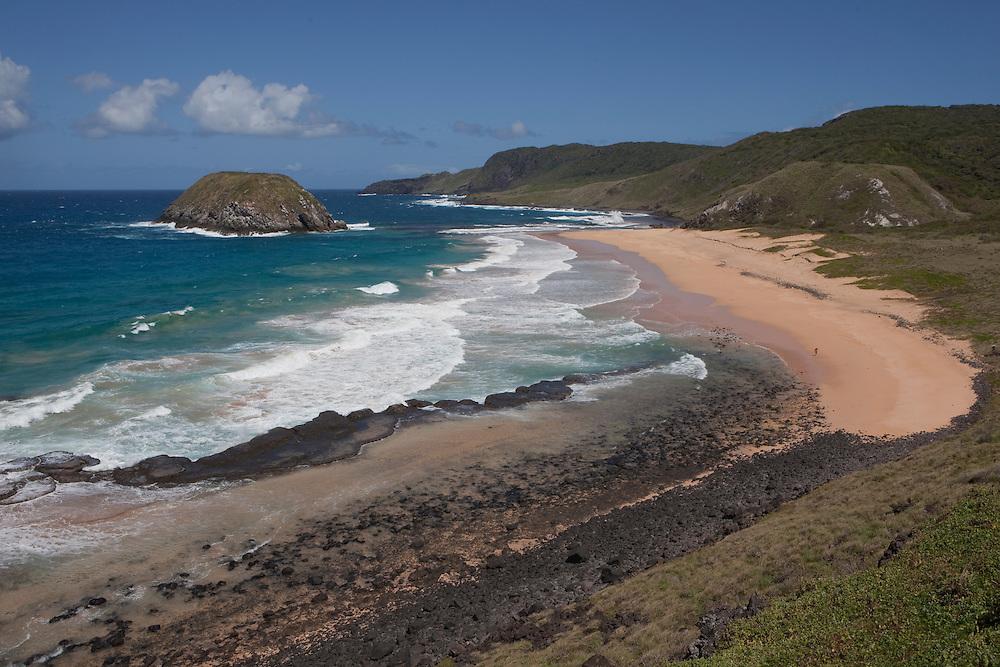 Leoes beach in Fernando de Noronha island, Brazil.