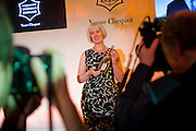 MICHELLE MCDOWELL WINNER OF THE AWARD, The Veuve Clicquot Businesswoman of the Year  Award. Claridge's, London.  March 28 2011. ,-DO NOT ARCHIVE-© Copyright Photograph by Dafydd Jones. 248 Clapham Rd. London SW9 0PZ. Tel 0207 820 0771. www.dafjones.com.