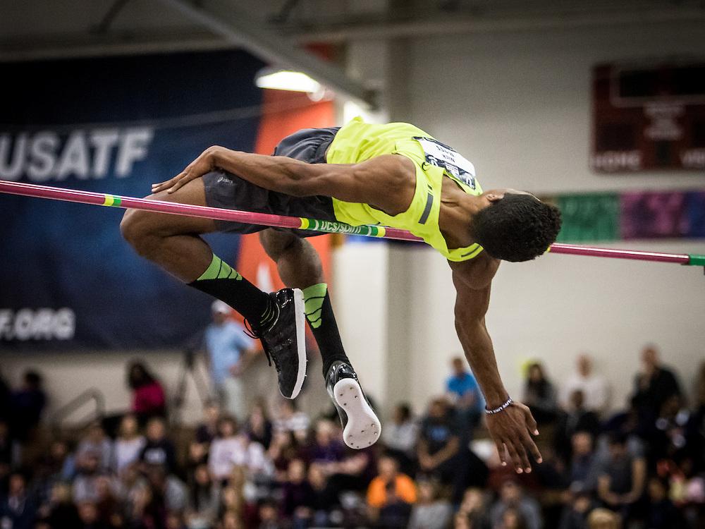 USATF Indoor Track & Field Championships: mens high jump, Nick Ross