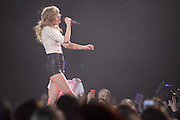 Taylor Swift performing on the RED Tour 2013 at the Scottrade Center in St. Louis, MO on March 18, 2013.