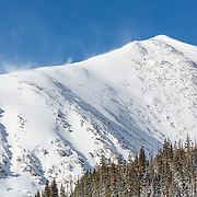 Nestled at timberline below the majestic peaks of the Colorado Continental Divide, 10th Mountain Division Hut forms a perfect destination for a single hut trip or ski-through using other nearby huts.