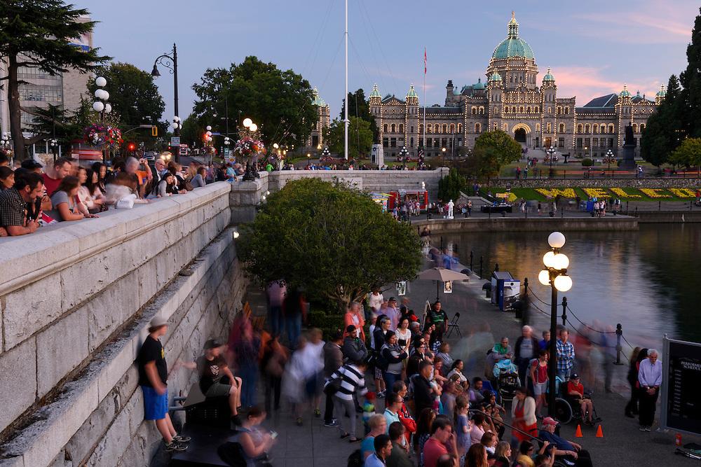 Canada, British Columbia, Vancouver Island, Victoria, Parliament
