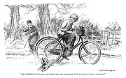 """""""Oh, Jockywock darling, you must try and remember it's a tricycle, not a bicycle."""""""