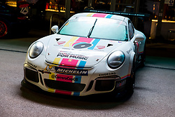 Dino Zamparelli hosts the launch of his 2017 Porsche Carrera Cup GB and Britcar Race Season - Rogan Thomson/JMP - 08/03/2017 - MOTORSPORT - Ashton Gate Stadium - Bristol, England.