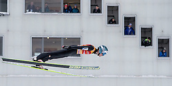 31.12.2014, Olympiaschanze, Garmisch Partenkirchen, GER, FIS Ski Sprung Weltcup, 63. Vierschanzentournee, Qualifikation, im Bild Michael Hayboeck (AUT) // during qualification Jump of 63rd Four Hills Tournament of FIS Ski Jumping World Cup at the Olympiaschanze, Garmisch Partenkirchen, Germany on 2014/12/31. EXPA Pictures © 2014, PhotoCredit: EXPA/ JFK