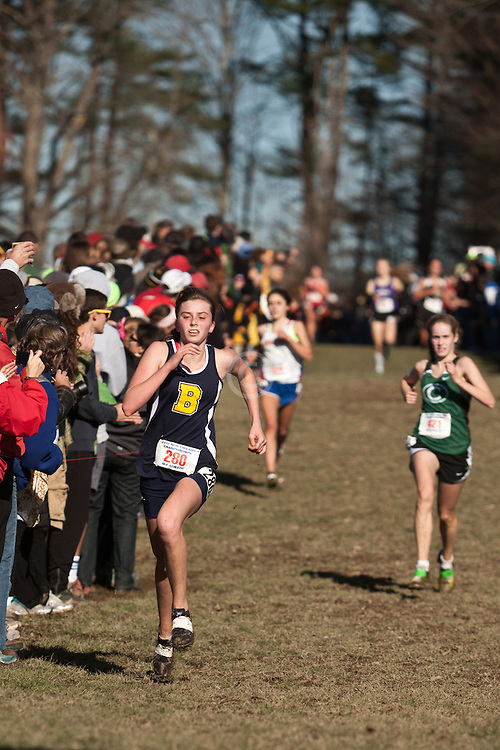 New England High School XC Championship, Emma McMillan, Barrington