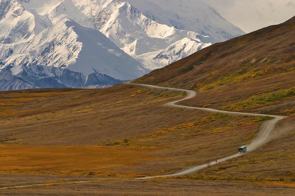 Mount McKinley from Stoney Hill, Denali National Park, Alaska