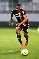Jean Philippe GBAMIN - 18.04.2015 - Metz / Lens - 33eme journee de Ligue 1<br />Photo : Fred Marvaux / Icon Sport