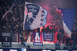 March 7, 2019 - Naples, Naples, Italy - SSC Napoli Supporters during the UEFA Europa League match between SSC Napoli and RB Salzburg at Stadio San Paolo Naples Italy on 7 March 2019. (Credit Image: © Franco Romano/NurPhoto via ZUMA Press)