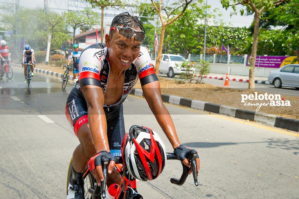 Tour of Thailand 2015/ Stage1/ Nakhon Ratchasima - Buri Ram/ TSG/ Anuar Manan