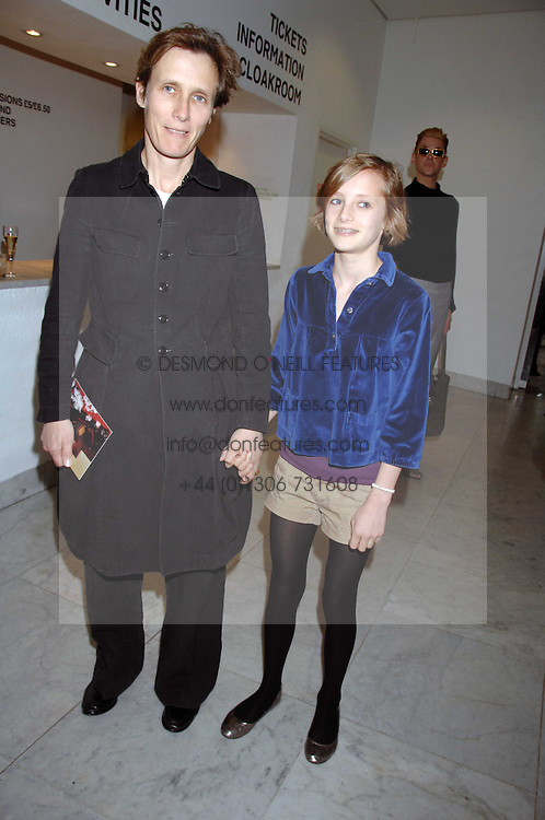 SOPHIE HICKS and her daughter OLYMPIA at a reception hosted by Vogue magazine to launch photographer Tim Walker's book 'Pictures' sponsored by Nude, held at The Design Museum, Shad Thames, London SE1 on 8th May 2008.<br />