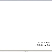 Julia and Daniel Album Proofs
