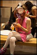 SIAN-ESTELLE PETTY, Andrew Logan's Alternative Miss World 2014. Shakespeare's Globe, London. 18 October 2014.