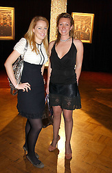 Left to right, LAURA BRUNT and JOSIE GOODBODY at a party to celebrate the global launch of the Moet & Chandon Vintage 1999 hell at Lawrence Hall, Royal Horticultural Hall, London SW1 on 22nd March 2005.<br /><br />NON EXCLUSIVE - WORLD RIGHTS