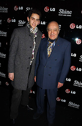 Left to right, OMAR AL-FAYED and his father MOHAMED AL-FAYED at the launch of he LG 'Shine' Black Label Series mobile phone held at Cirque, Leicester Square, London W1 on 7th February 2007.<br /><br />NON EXCLUSIVE - WORLD RIGHTS