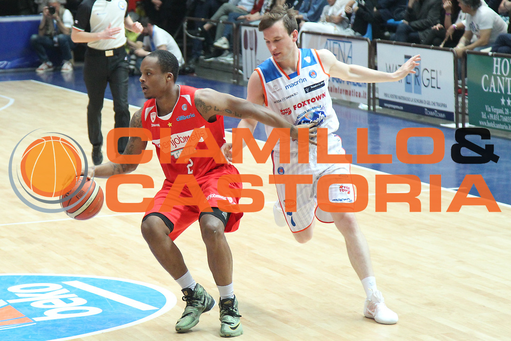 Cucciago 04.05.2016<br /> 30a giornata serie A Beko<br /> Cucciago Mapooro Arena<br /> Acqua Vitasnella Cantu' vs Openjobmetis Varese : Maalik Wayns<br /> Provvisorio<br /> FOTO CIAMILLO