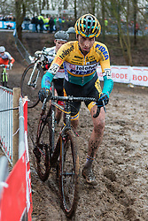 Thijs van Amerongen (NED) of Telenet - Fidea Cycling Team, Men Elite, Cyclo-cross World Cup Hoogerheide, The Netherlands, 25 January 2015, Photo by Pim Nijland / PelotonPhotos.com