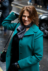 © Licensed to London News Pictures. 05/03/2016. London, UK. TRACEY EMIN arriving at Rupert Murdoch and Jerry Hall's wedding ceremony at St Bride's Church in Fleet Street, London on Saturday, 5 March 2016. Photo credit: Tolga Akmen/LNP
