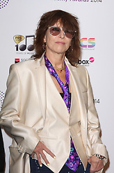 CHRISSIE HYNDE arrives for the Radio Academy Awards, London, United Kingdom. Monday, 12th May 2014. Picture by i-Images