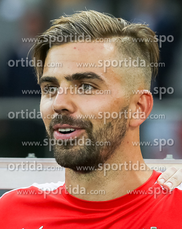 04.06.2016, Ernst Happel Stadion, Wien, AUT, Testspiel, Oesterreich vs Niederlande, im Bild Lukas Hinterseer (AUT) // Lukas Hinterseer (AUT) during the International Friendly Match between Austria and Netherlands at the Ernst Happel Stadion in Wien, Austria on 2016/06/04. EXPA Pictures © 2016, PhotoCredit: EXPA/ Alexander Forst