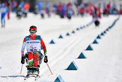 LORINCZ Krisztina HUN LW10.5 competing in the ParaSkiDeFond, Para Nordic Skiing, Sprint at  the PyeongChang2018 Winter Paralympic Games, South Korea.