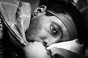 Sanspapiers, dakloze vluchtelingen, bivakkeren in gebouwen van de VUB zijn op 14 januari in hongerstaking gegaan om hun uitzichtloze situatie kracht bij te zetten. Dechraoui, age 33 came from Algeria in 2004.