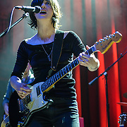 WASHINGTON, D.C. - June 17th, 2014 - Sharon Van Etten performs at the 9:30 Club in Washington, D.C. In May Van Etten released her fourth studio album, Are We There, to critical acclaim. (Photo by Kyle Gustafson / For The Washington Post)
