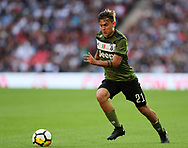 Juventus Paulo Dybala in action during the pre season match at Wembley Stadium, London. Picture date 5th August 2017. Picture credit should read: David Klein/Sportimage