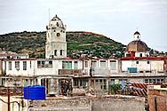 Holguin rooftops, Cuba.