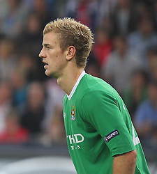 16.09.2010, Red Bull Arena, Salzburg, AUT, UEFA EL, Red Bull Salzburg vs Manchester City, im Bild Joe Hart, Goalkeeper (Manchester City, #25), EXPA Pictures © 2010, PhotoCredit: EXPA/ D. Scharinger / SPORTIDA PHOTO AGENCY