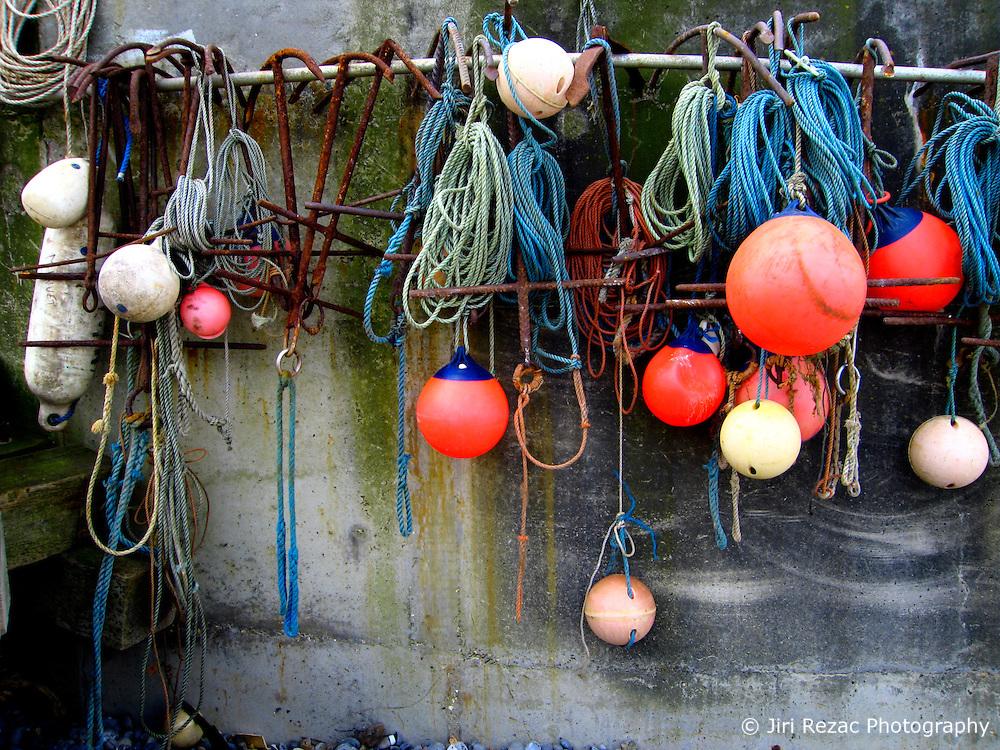 UK ENGLAND NORFOLK SHERINGHAM 7MAY06 - Fishing boats and accessoires on the beach at Sheringham, north Norfolk coast...jre/Photo by Jiri Rezac..© Jiri Rezac 2006..Contact: +44 (0) 7050 110 417.Mobile:  +44 (0) 7801 337 683.Office:  +44 (0) 20 8968 9635..Email:   jiri@jirirezac.com.Web:    www.jirirezac.com..© All images Jiri Rezac 2006 - All rights reserved.