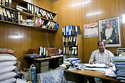 Muscat (Mutrah), Sultanate of Oman. .January 31st 2009. In an office.