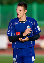 Robert Kurez of Drava at 18th Round of PrvaLiga football match between NK Olimpija and NK Labod Drava, on November 21, 2009, in ZAK, Ljubljana, Slovenia. Olimpija defeated Drava 3:0. (Photo by Vid Ponikvar / Sportida)