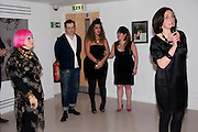 ZANDRA RHODES; ROBERT; GITY; SAM; TANYA STEELE ( FROM SAVE THE CHILDREN) ,  My favorite dress book launch hosted by Susy Menkes and Zandra Rhodes. Fashion Museum. London. In Support of Save the Children. 11 January 2010
