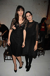 Left to right, DAISY LOWE and her mother PEARL LOWE at a party to celebrate the launch of Jo Malone's new White Jasmine & Mint Cologne held at Number 1 The Piazza, Covent Garden, London on 12th September 2007.<br /><br />NON EXCLUSIVE - WORLD RIGHTS