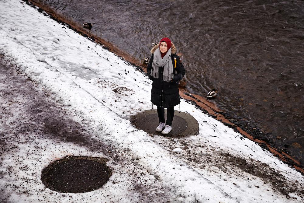 Oslo, 20150115<br /> Faten Mahdi Al-Hussaini.<br /> Tomannshånd.<br /> Foto: Paul Paiewonsky / Dagbladet MAGASINET