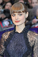 LONDON - MAY 09: Bella Heathcote attends the European Film Premiere of 'Dark Shadows' at the Empire Cinema, Leicester Square, London, UK. May 09, 2012. (Photo by Richard Goldschmidt)
