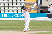 Colin Ackemann batting during the Bob Willis Trophy match between Lancashire County Cricket Club and Leicestershire County Cricket Club at Blackfinch New Road, Worcester, United Kingdom on 4 August 2020.