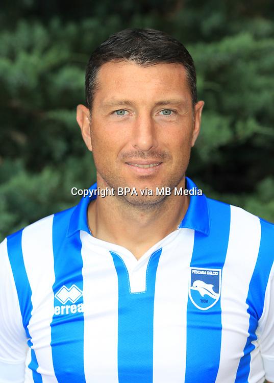 Italian League Serie A -2016-2017 / <br /> ( Delfino Pescara Calcio 1936 ) - <br /> Gabriele Aldegani