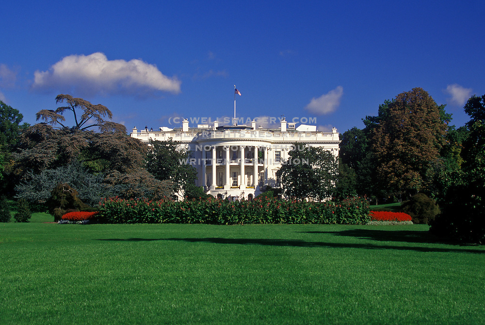 Image of the White House in Washington DC, American Northeast