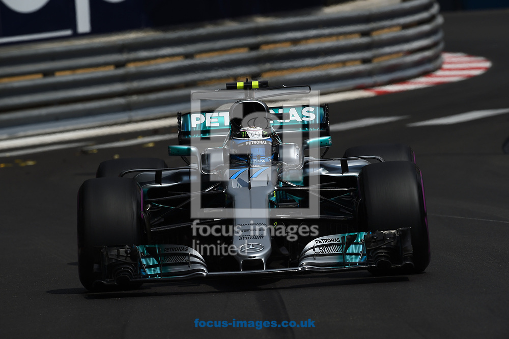 Valtteri Bottas of Mercedes AMG Petronas during the practice session for the 2017 Monaco Formula One Grand Prix at the Circuit de Monaco, Monte Carlo<br /> Picture by EXPA Pictures/Focus Images Ltd 07814482222<br /> 25/05/2017<br /> *** UK &amp; IRELAND ONLY ***<br /> <br /> EXPA-EIB-170525-0090.jpg