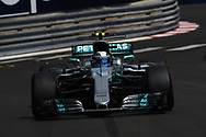 Valtteri Bottas of Mercedes AMG Petronas during the practice session for the 2017 Monaco Formula One Grand Prix at the Circuit de Monaco, Monte Carlo<br /> Picture by EXPA Pictures/Focus Images Ltd 07814482222<br /> 25/05/2017<br /> *** UK & IRELAND ONLY ***<br /> <br /> EXPA-EIB-170525-0090.jpg