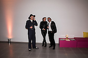 GAZ MAYALL; PAULINE AMOS; TIM SPICER, Serpentine Gallery and Harrods host the Future Contempories Party 2016. Serpentine Sackler Gallery. London. 20 February 2016