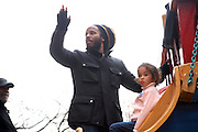 26 November 2009, NY, NY- Ziggy Marley at The 2009 Macy's Day Parade held on November 26, 2009 in New York City. Terrence Jennings/Sipa