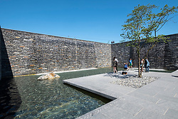 Promenade Aquatica water gardens at IGA 2017 International Garden Festival (International Garten Ausstellung) in Berlin, Germany