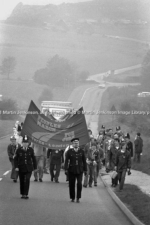 People's  March for Jobs Chesterfield to Mansfield . 12/05/1981