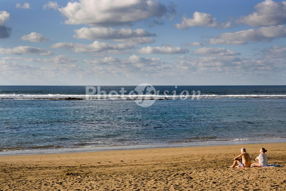 Beach in the Canary Islands,